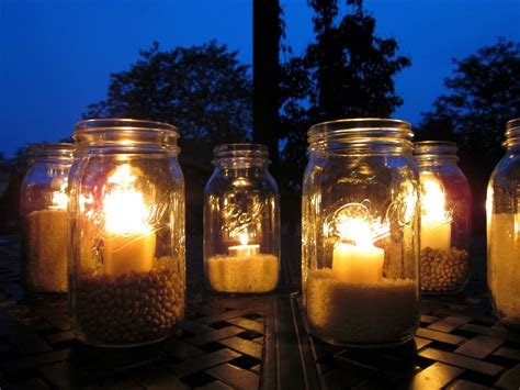 Outdoor Candle Lights Outdoor Jar Lights