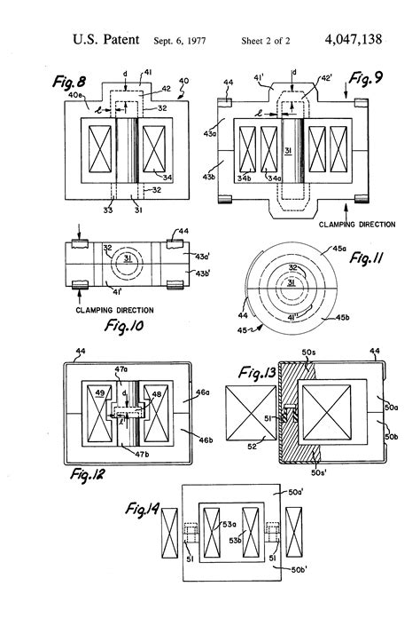 inductor air gap patent us4047138 power inductor and transformer with low acoustic noise air gap patents