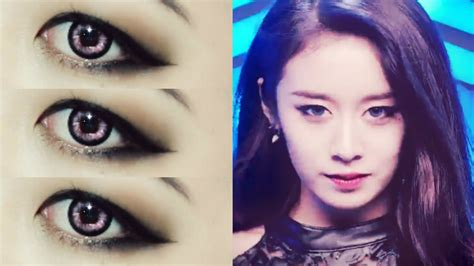 tutorial eyeliner jiyeon jiyeon t ara quot sugar free quot makeup tutorial youtube