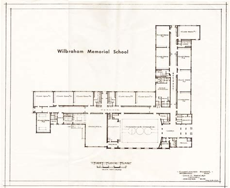 floor plan school school floor plans house plans