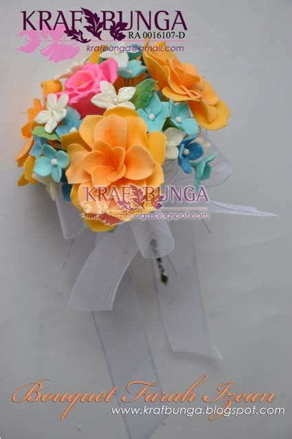 Clay Bunga 05 clay flowers by krafbunga bouquet farah izean