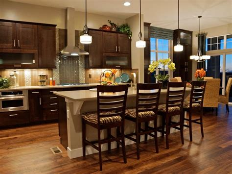 kitchen breakfast bars refinishing kitchen chairs stools hgtv pictures ideas