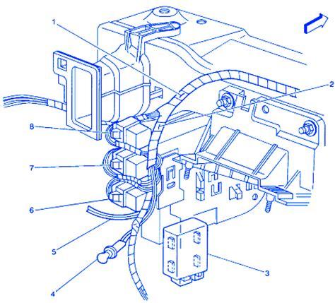 pontiac grand prix 3.8 1999 engine electrical circuit