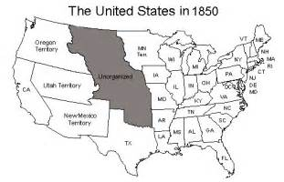 1850 united states map 1850 us map