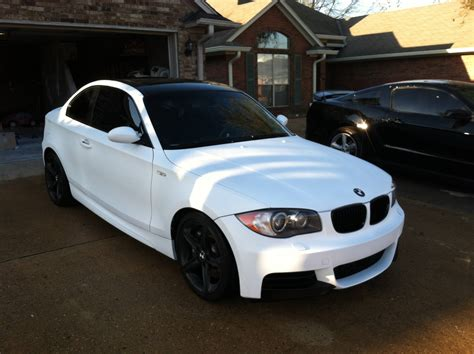matte white bmw 1st whole car dip matte white bmw 135i beamerr