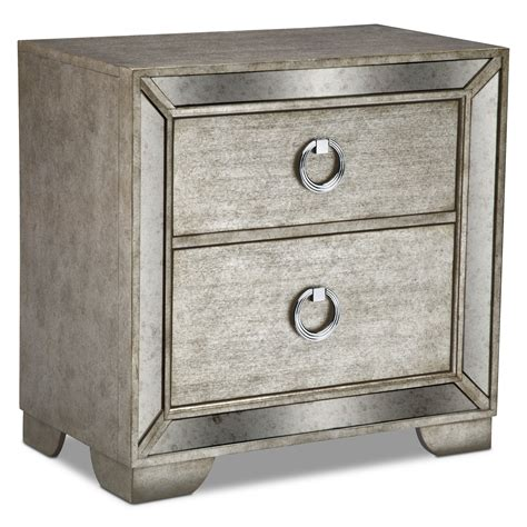 bedroom night stands angelina nightstand value city furniture