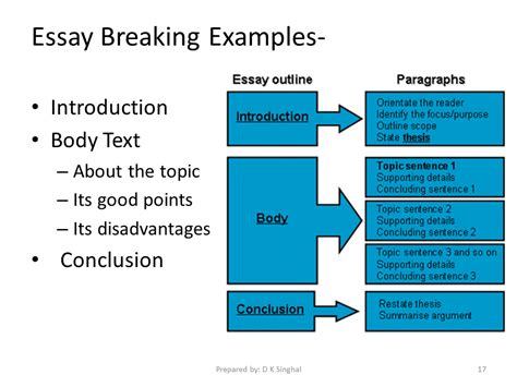essay format introduction body conclusion helping with homework reception class worsthorne