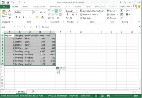 How To Use Pivot Table In Excel 2013 by New Pivot Table Style In Excel 2013