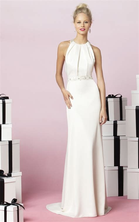 White Bridesmaid Dress by White Sheath Floor Length Bridesmaid Dress In