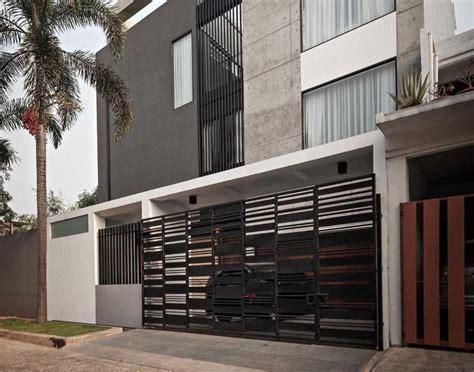 foto desain pagar minimalis desain pagar rumah minimalis sederhana namun menawan arsitag