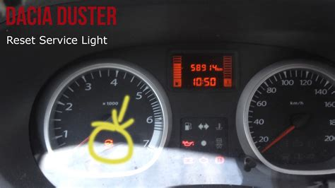 Kontrollleuchten Auto Bedeutung Renault by Dacia Duster Reset Oil Light Youtube
