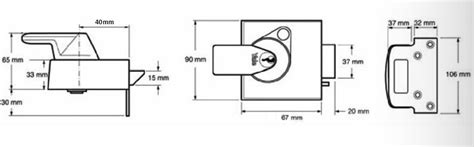 yale lock diagram yale front door lock narrow pbs2 high security