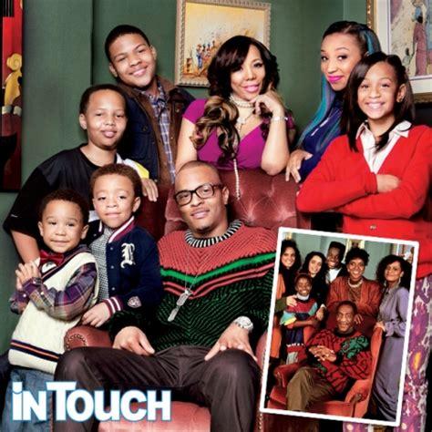 ti tiny harris family photo entertainment rundown