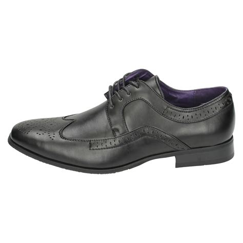 mens shoes flat mens flat formal brogue shoes lace up