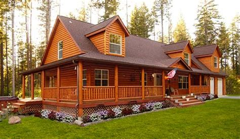 Log Cabin Style Modular Homes by Modular Homes Make Great Cabins Modular Home