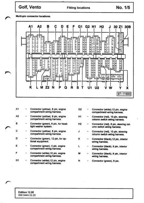 mk3 jetta fuse diagram wiring diagram