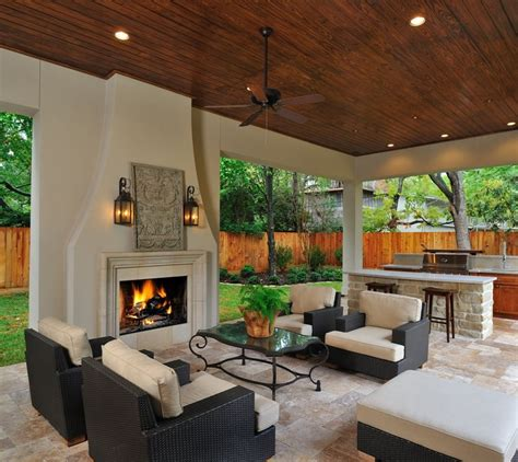 outside living rooms outdoor living room kitchen with fireplace it s like a great room but with no walls i