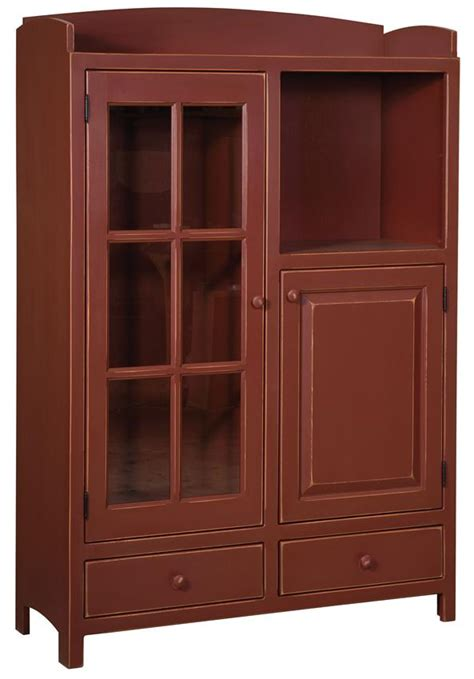 Amish Pantry Cabinet by Amish Pine Pottery Pantry Cabinet