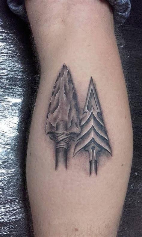 henna tattoo dublin two realistic arrow heads done by david tattoos by david