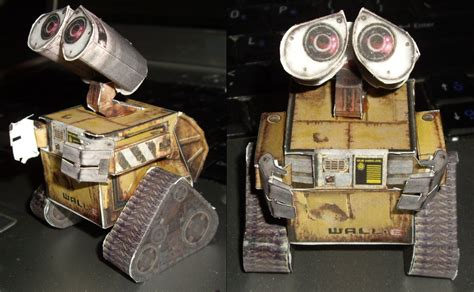 Wall E Papercraft - papercraft wall e by ykansaki on deviantart