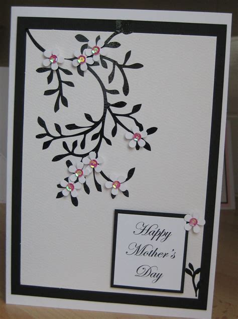 Handmade B Day Cards - handmade mothers day card flickr photo