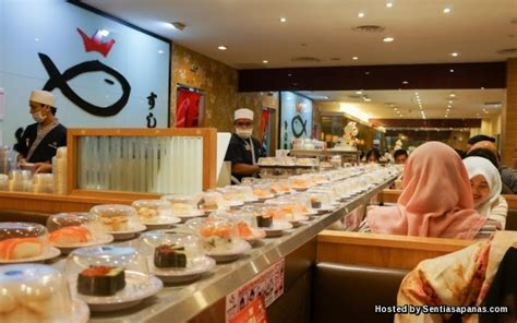 sushi king tiada sijil halal guna arak  hidangan