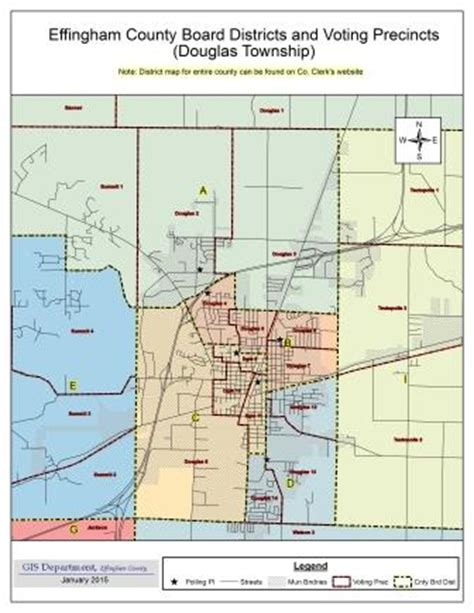 Effingham County Court Records Election Maps Effingham County Illinois Il