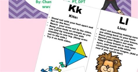 printable alphabet movement cards alphabet movement cards the o jays learning and printables