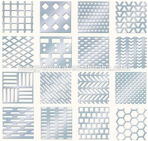 pattern sheet metal round hole perforated metal sheets round hole pattern
