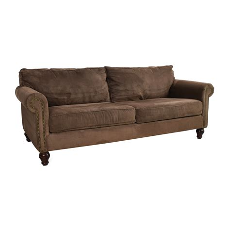 67 off pier 1 imports pier 1 alton ecru rolled arm sofa