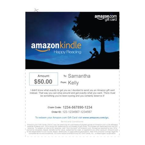 Can You Use A Kindle Gift Card On Amazon - christmas cards print out