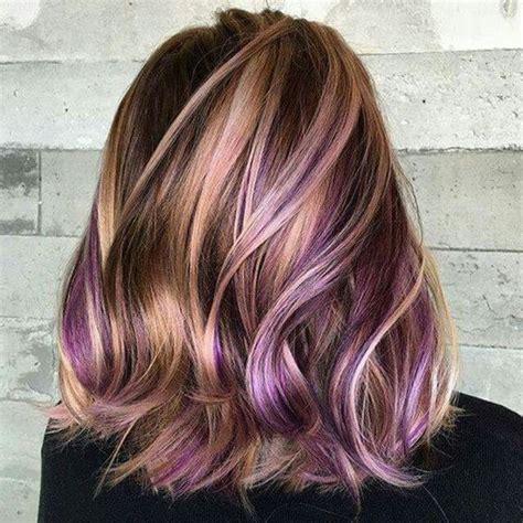 Best Purple Shoo For Highlights | 25 best ideas about dark purple highlights on pinterest