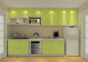 Kitchen With Movable Cabinets Minimalist Kitchen Interiors Design 3d