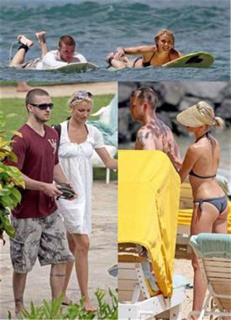 Cameron Diaz Justin Timberlake Buy Hawaiian Estate by Maroon5 Avril Beckham Hi You I M Black