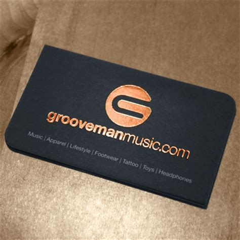 Gold Color Business Cards