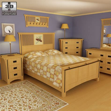 3d bedroom sets bedroom furniture 22 set 3d model hum3d
