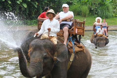 Elephant Ride | Putu Bali Tour Guide