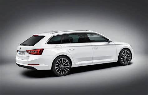 new skoda superb combi revealed before frankfurt debut