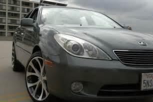 lexus es 330 custom wheels axis 19x9 5 et 43 tire size