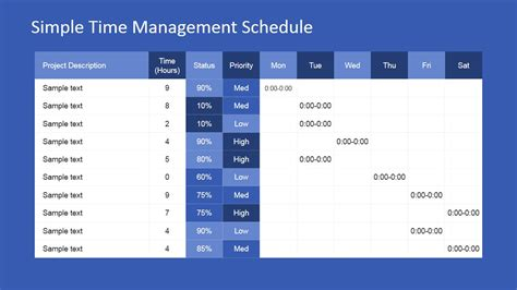 powerpoint themes time management project time management powerpoint template slidemodel
