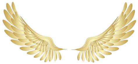 Angel Wings Home Decor Golden Wings Decor Png Clipart Picture Gallery