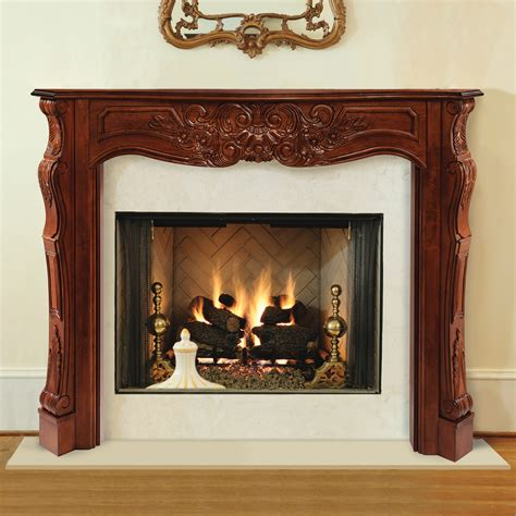 traditional fireplace mantels amazon com pearl mantels 510 48 newport 48 inch fireplace