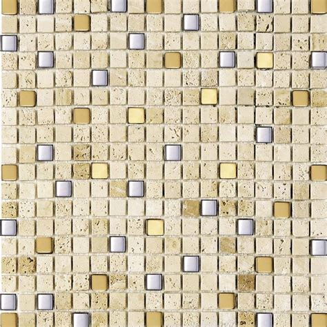 mozaik fliesen mosaik fliesen aus marmor mit edelstahl athen mosaik