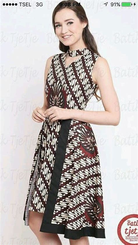 Dress Midi Mini Gaun Katun Laser Kerah Simple Santai Casual Formal best 25 modern batik dress ideas on rok batik modern gaun batik modern and batik dress