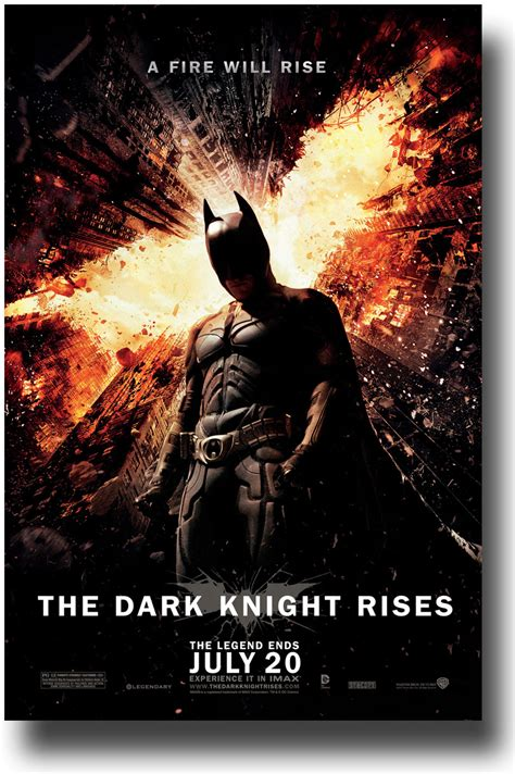 Dark Posters by The Dark Knight Rises Posters Movie Promo Flyers