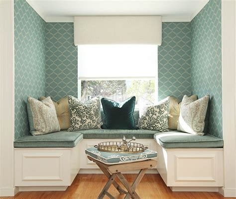 banquette pillows pink velvet banquette cushions design ideas