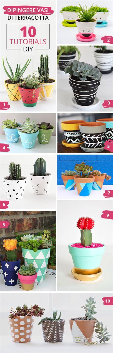 dipingere vasi di terracotta 10 tutorials per dipingere i vasi di terracotta e un