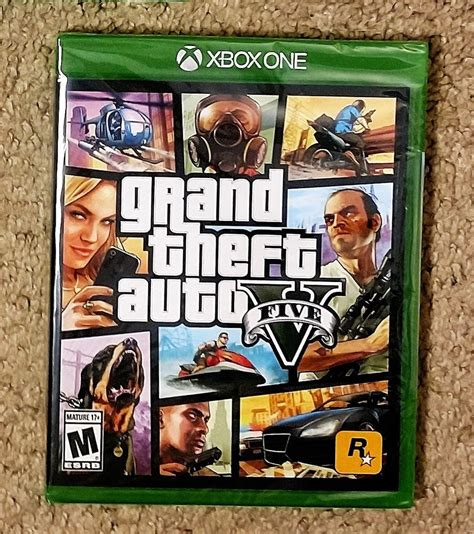 Xbox One Gta V grand theft auto v microsoft xbox one gta 5 brand new