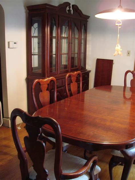 american drew cherry grove dining room 10pc american drew cherry grove dining room table set