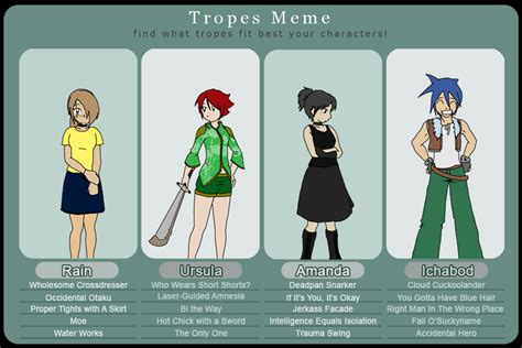 tv tropes tv tropes meme by jocelynsamara on deviantart